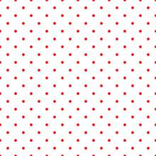 Seamless Pattern Of Small Polk...