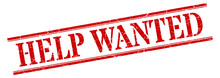 Help Wanted Stamp. Help Wanted...