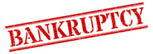 Bankruptcy Stamp. Bankruptcy S...