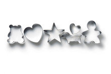 Cookie Cutter Isolated On Whit...