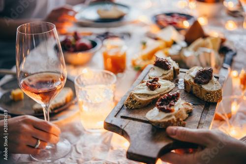Fototapeta  Dinner party