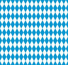 Bavarian Flag Seamless Pattern