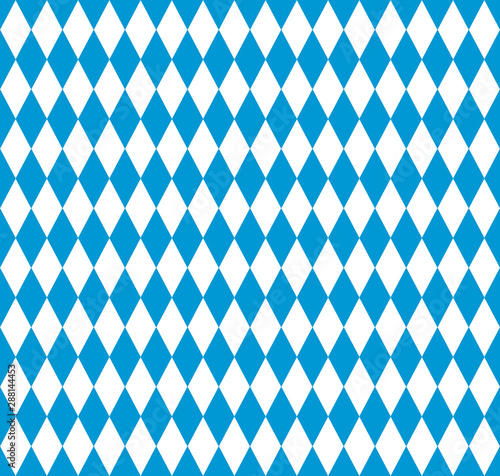 Tela Bavarian flag seamless pattern