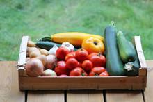 Plateau De Légumes Bio : Toma...