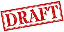 Draft Stamp. Draft Square Grun...