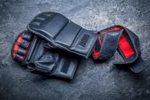 Mixed Martial Arts Black Glove...