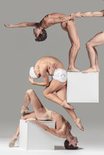 Levitation,acrobat,gene,cube, Genetics, Biology, Chromosome, DNA,origin,genetic,gravity, Perspective