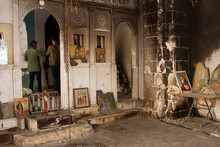 Devastated Orthodox Church In ...
