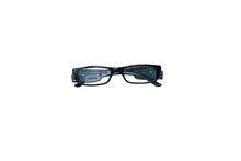 Black Eyeglasses Isolated On W...