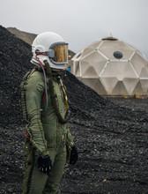 Anonymous Astronaut Near Base