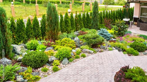 Landscape Design Of Home Garden