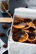 Handmade Baked Orange Treats