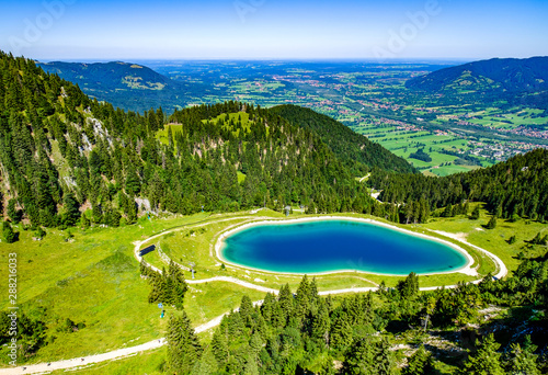 Poster Autumn small reservoir