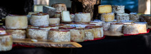 Traditional Goat Cheese Typical Of Liebana, Cantabria. Spain