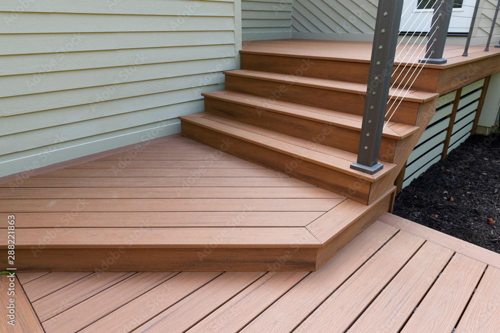 Fototapety, obrazy: New Modern Front Porch