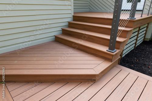 New Modern Front Porch Obraz na płótnie
