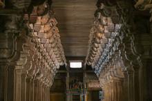 Stone Carving Pillars Inside T...