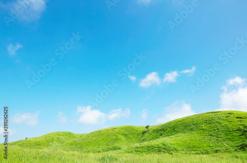 Obraz 阿蘇の風景 - fototapety do salonu