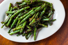 Spicy Szechuan Green Beans On ...