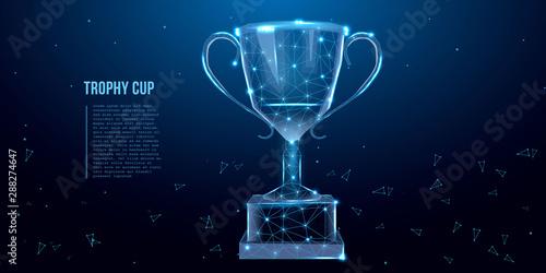 Trophy cup Fototapet