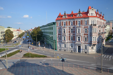 Białystok-centrum miasta/Bialystok-downtown, Podlasie, Poland