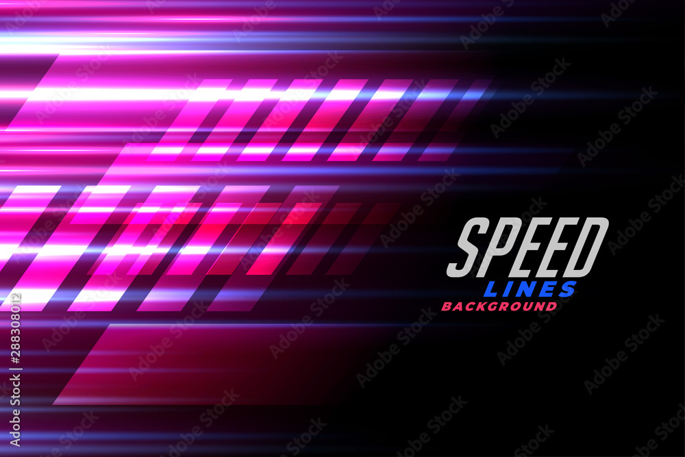 Fototapeta speed lines racing background for car or motor sports