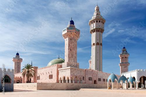 Senegal, Moschea a Touba Fototapeta
