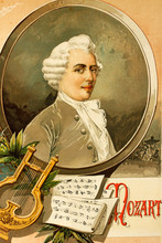 Wolfgang Amadeus Mozart. Music...