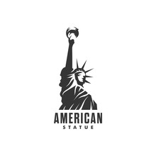 Statue Of Liberty Logo - Vecto...