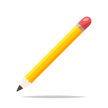 Pencil Vector Isolated Illustr...