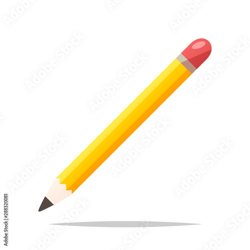 Fotomural  Pencil vector isolated illustration