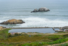 Remains Of Sutro Baths Along T...