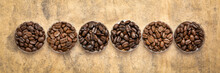Variety Of Coffee Beans From Different Parts Of The World