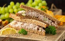 Healthy Tuna Sandwich With Cel...