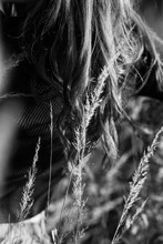 Woman In Dry Grass