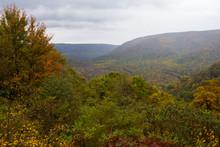 Valley In Autumn, Ohiopyle Sta...
