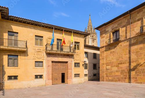 Oviedo, Spain. Archbishopric of Oviedo Canvas Print
