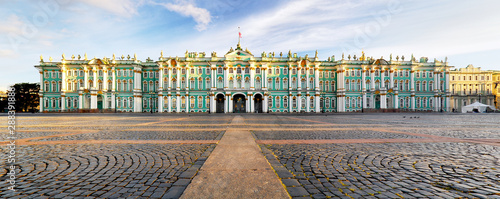 Canvastavla  Winter Palace - Hermitage in Saint Petersburg, Russia