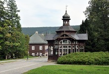 Spa And Village Karlova Studanka, Czech Republic, Europe