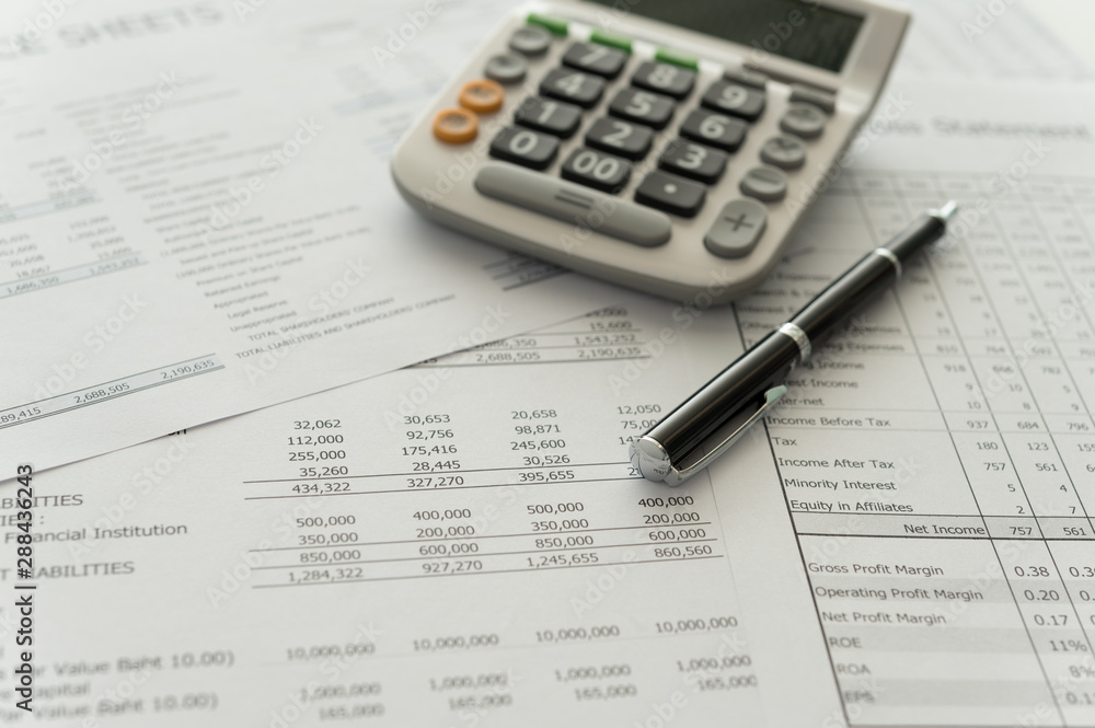 Fototapety, obrazy: accounting business