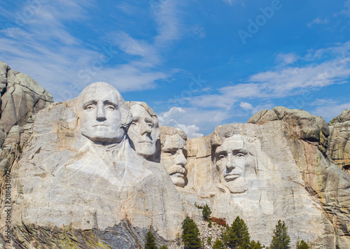 Mount Rushmore National Monument in the Black Hills of South Dakota, USA Poster Mural XXL