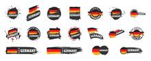 Germany Flag, Vector Illustrat...