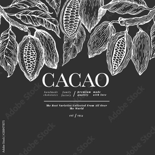 Cuadros en Lienzo  Cocoa banner template