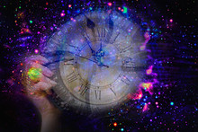 Background Outer Space And Time