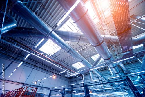 Fotografía Air conditioning of buildings