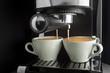 Leinwanddruck Bild Coffee cup