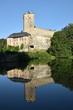 View on Kost castle, Bohemian paradise, Czech republic