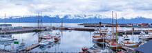 Iceland, Husavic Town Location...