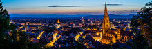 Germany, XXL Panorama Of City ...