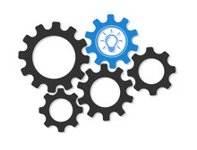 The Gears Of Machines That Continuously Work, Driving The Organization's Ideas.